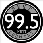 Logo da emissora KUTT 99.5 FM
