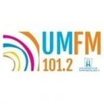 Logo da emissora UM Radio 101.2 FM