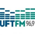 Logo da emissora Rádio UFT 96.9 FM