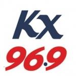 Logo da emissora KZKX 96.9 FM
