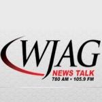 Logo da emissora WJAG 780 AM