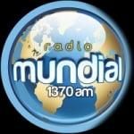 Logo da emissora Radio Mundial 1370 AM
