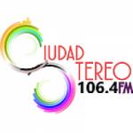Logo da emissora Radio Ciudad Stereo 106.4 FM