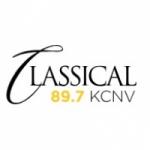 Logo da emissora Radio KCNV News 89.7 FM