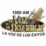 Logo da emissora Radio La Voz de la Nostalgia 1080 AM
