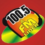 Logo da emissora Rádio 100.5 FM