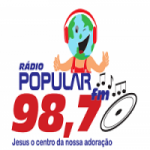 Logo da emissora Rádio Popular 98.7 FM