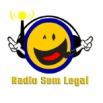 Logo da emissora Rádio Som Legal