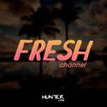Logo da emissora Hunter FM  Fresh