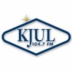 Logo da emissora Radio KJUL 104.3 FM