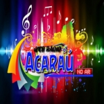 Logo da emissora Acaraú Web Rádio