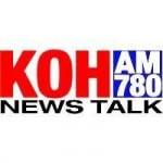 Logo da emissora KKOH 780 AM