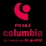 Logo da emissora Radio Columbia 88.5 FM