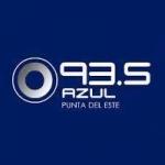 Logo da emissora Radio Azul 93.5 FM