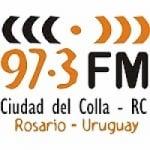 Logo da emissora Radio FM Ciudad del Colla 97.3
