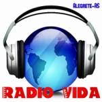 Logo da emissora Rádio Vida de Alegrete