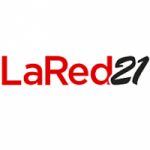 Logo da emissora Radio La Red21 FM Pop-Rock