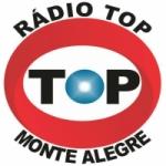 Logo da emissora Rádio Top Monte Alegre