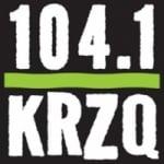 Logo da emissora KRZQ 104.1 FM