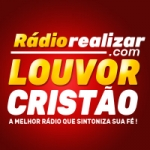 Logo da emissora Rádio Realizar Louvor Cristão