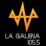 Logo da emissora Radio La Galena 105.5 FM