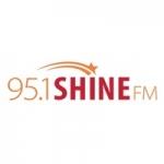Logo da emissora Radio WRBS Shine 95.1 FM