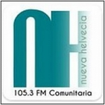 Logo da emissora Radio Nueva Helvecia 105.3 FM