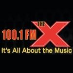 Logo da emissora KTHX 100.1 FM