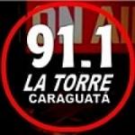 Logo da emissora Radio La Torre Caraguatá 91.1 FM