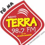 Logo da emissora Rádio Terra 98.7 FM