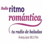 Logo da emissora Radio Ritmo Romántica 98.3 FM