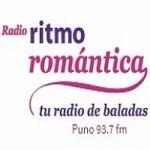Logo da emissora Radio Ritmo Romántica 93.7 FM