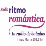 Logo da emissora Radio Ritmo Romántica 105.3 FM