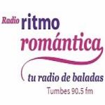 Logo da emissora Radio Ritmo Romántica 90.5 FM