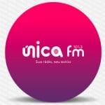 Logo da emissora Rádio Única 101.3 FM