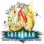 Logo da emissora Rádio Gospel Shekinah