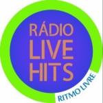 Logo da emissora Rádio Live Hits