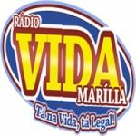 Logo da emissora Rádio Vida Marília