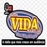 Logo da emissora Rádio Vida Marília/SP