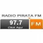 Logo da emissora Radio Pirata Mix 97.7 FM
