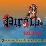 Logo da emissora Radio Pirata Mix 103.3 FM