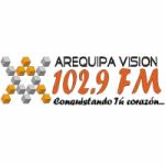 Logo da emissora Radio Arequipa Visión 102.9 FM