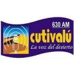 Logo da emissora Radio Cutivalú 107.9 FM 630 AM
