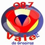 Logo da emissora Rádio Vale do Groaíras 98.7 FM
