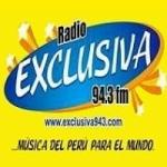 Logo da emissora Radio Exclusiva 94.3 FM