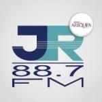 Logo da emissora Radio JR 88.7 FM