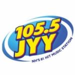 Logo da emissora WJYY 105.5 FM