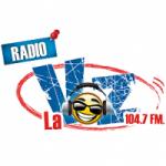 Logo da emissora Radio La Voz 104.7 FM