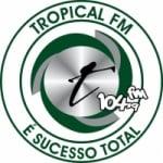 Logo da emissora Rádio Tropical FM 104.9