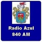 Logo da emissora Radio Azul 840 AM